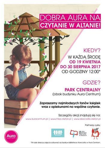 Czytanie w Altanie