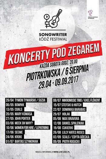 III Songwriter Łódź Festiwal 2017 - dzień 14