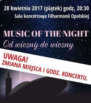 Music of the Night – Od wiosny do wiosny