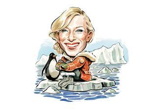 Cate Blanchett i imigranci