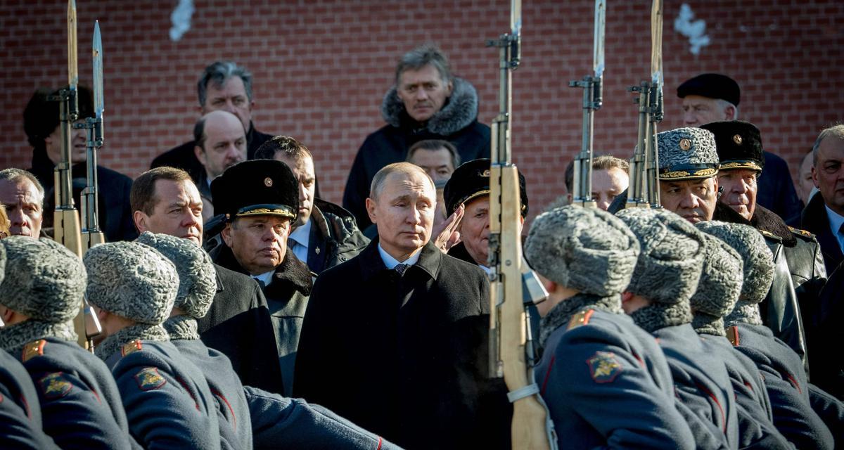 Zimna wojna Putina