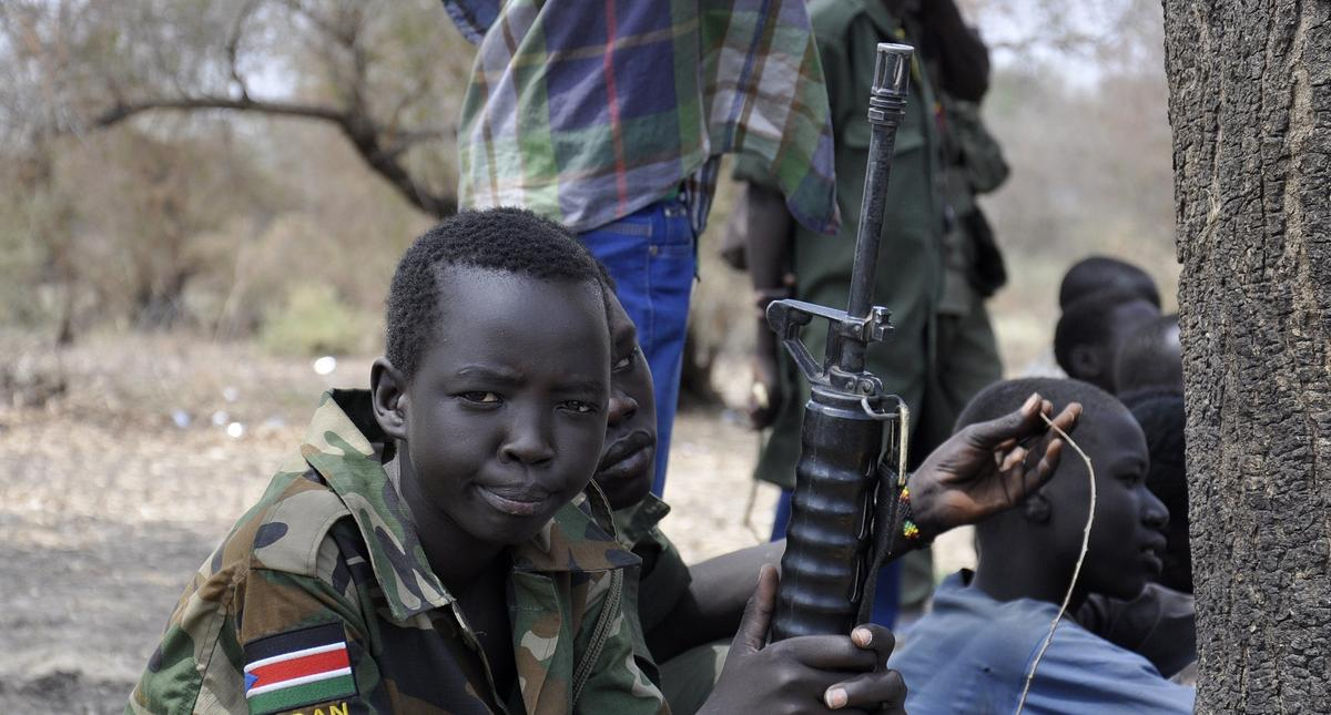 300 child soldiers released in South Sudan