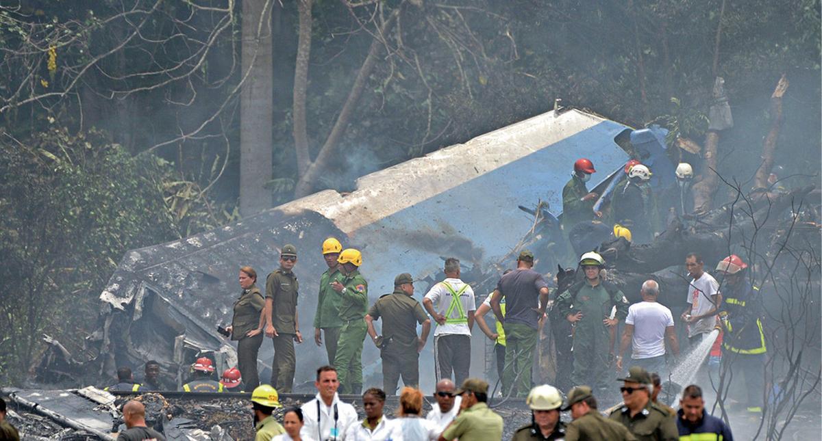 katastrofa samolotu na kubue