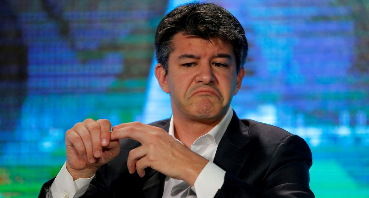 FILE PHOTO - Uber CEO Travis Kalanick attends the summer World Economic Forum in Tianjin