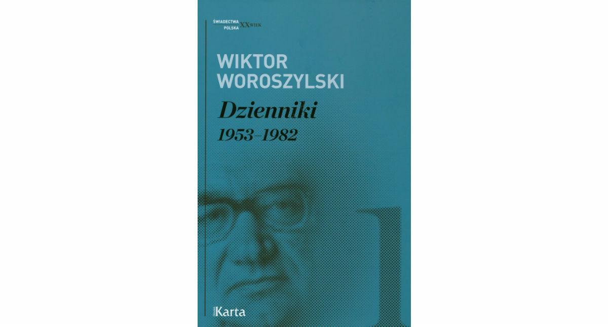 Woroszylski, dzienniki okładka