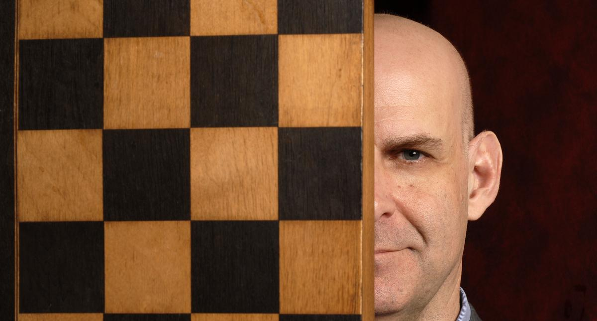 Harlan Coben Portrait Session