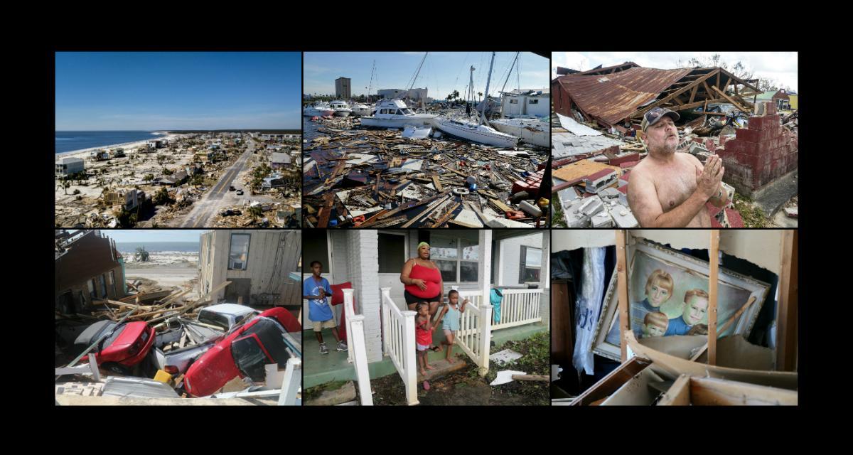 Krajobraz po huraganie