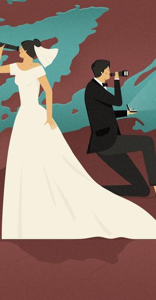 Małżeństwo z obcym akcentem