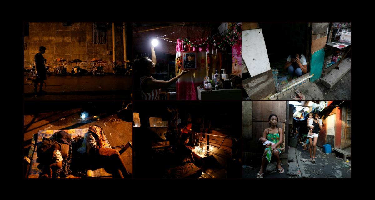 Życie i śmierć wslumsach Manili
