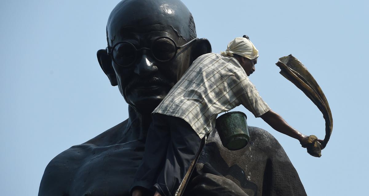 Lustracja Gandhiego