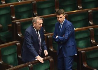 Schetyna zagra jakKaczyński