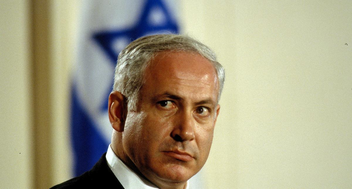 Benjamin Netanyahue at the White House