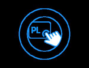 Srebrny ekran LED   Czytelne i jasne informacje  Czytelny panel sterowania to jeszcze łatwiejsze używanie przycisków i opisów na wyświetlaczu. Łatwe do zrozumienia informacje wyświetlane są dokładnie nad przyciskami, ułatwiając wybieranie właściwych kombinacji