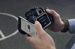 Łatwa łączność oraz proste tworzenie i dzielenie się zdjęciami i filmami z innymi