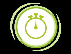 """Alert zakończonego prania  Według wyboru: 30, 60 lub 90 min. po zakończeniu cyklu alert przypomni Ci o praniu, aż do 12 godzin od jego ukończenia. Nigdy więcej """"nieprzyjemnej niespodzianki""""."""