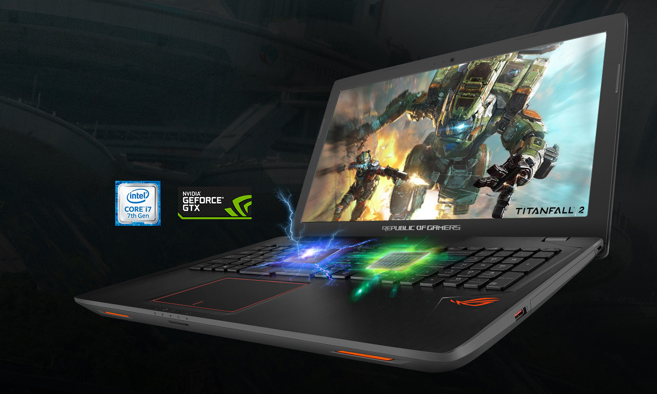 ROG Strix GL553VE Idealny do gier