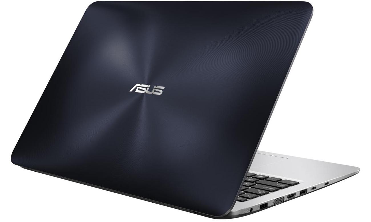 ASUS R558UQ-DM513D smukła lekka konstrukcja mobilność