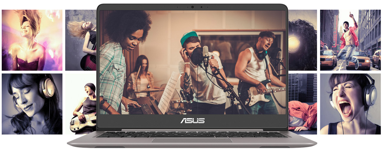 Technologia SonicMaster w ASUS ZenBook UX410UA