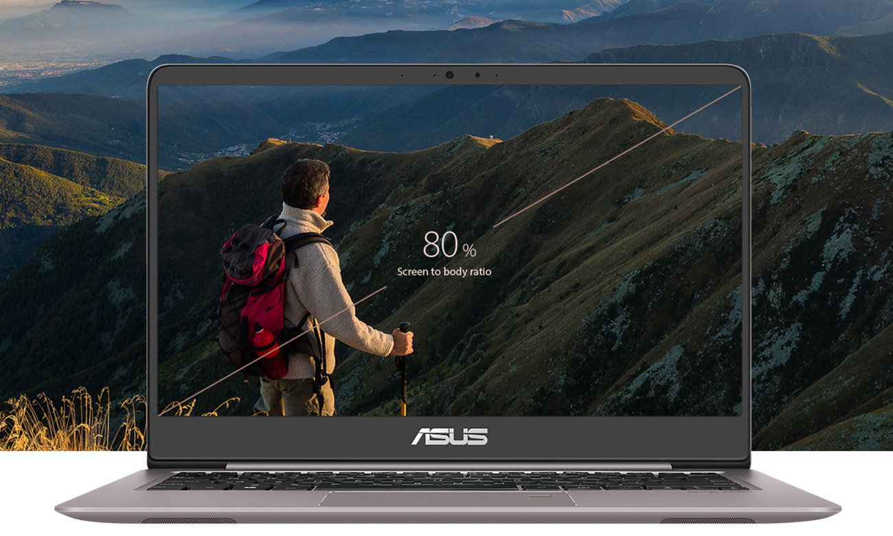 ASUS ZenBook UX410UAwyświetlacz FullHD