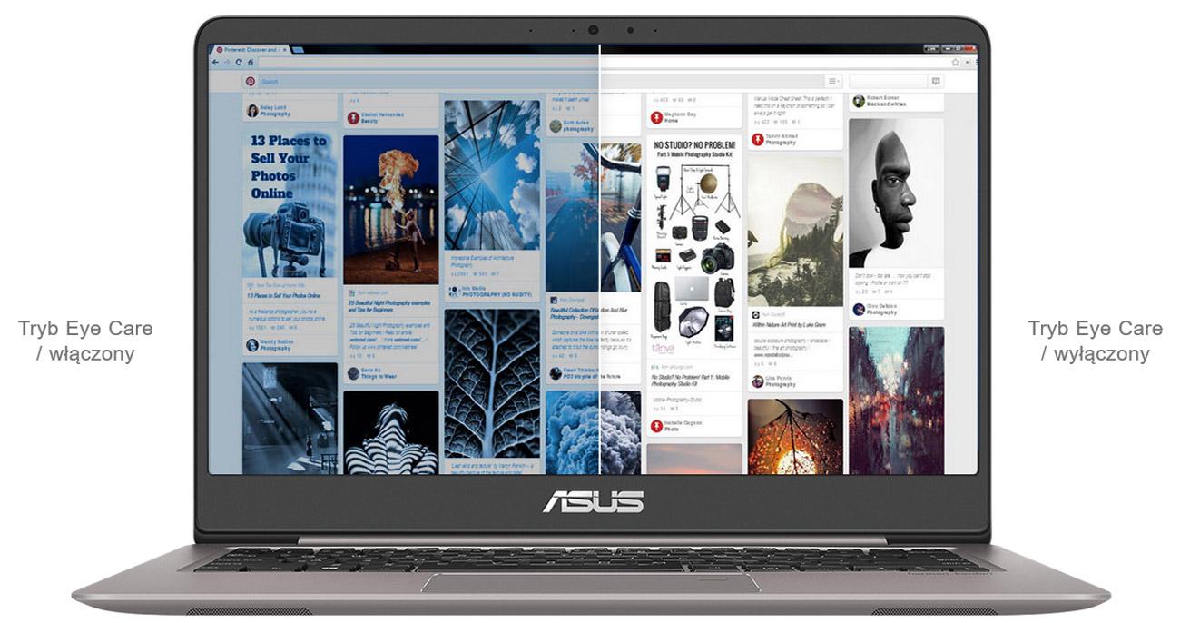 ASUS ZenBook UX410UA Asus Eye Care