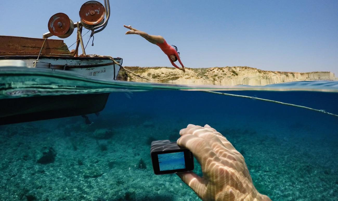 Kamera GoPro HERO5 Black Odporna na wodę