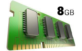 Pracuj wydajnie z pamięcią RAM 8 GB