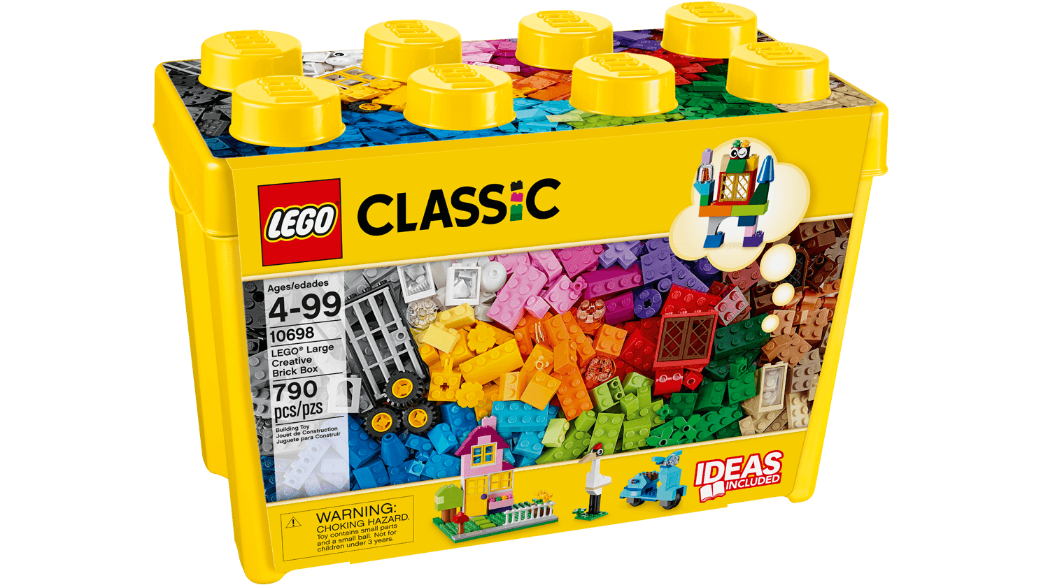 Kreatywne klocki LEGO(R), duże pudełko