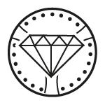 Bęben Diamond  Opływowy kształt bębna Diamond oraz specjalnie wyprofilowane otwory gwarantują skuteczność każdego prania.