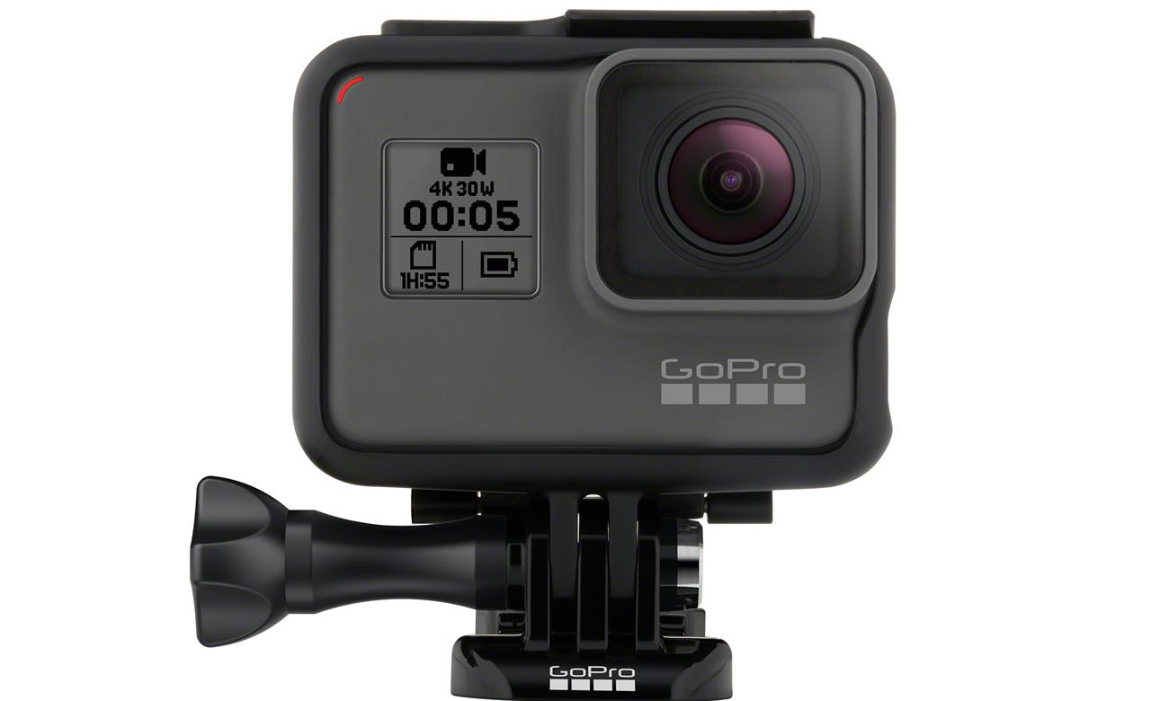 Kamera GoPro HERO5 Black Akcesoria w zestawie