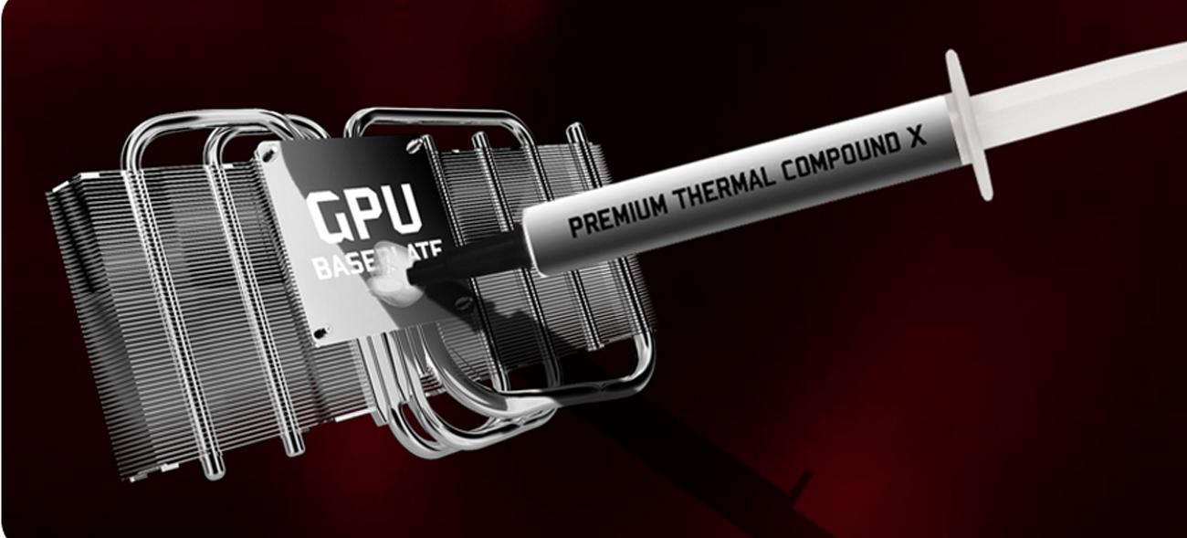 Karta graficzna PCI-E MSI  GeForce GTX 1060 GAMING X 6GB GDDR5 GTX 1060 GAMING X 6G