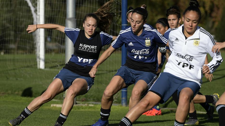 Trening reprezentacji Argentyny