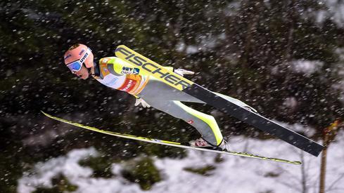 Stefan Kraft (fot. AFP)