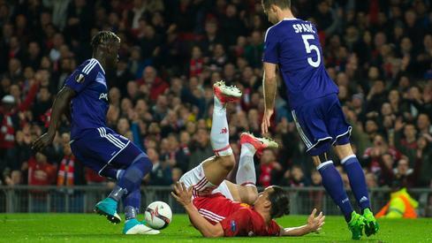 Manchester - Anderlecht (fot. PAP/EPA)