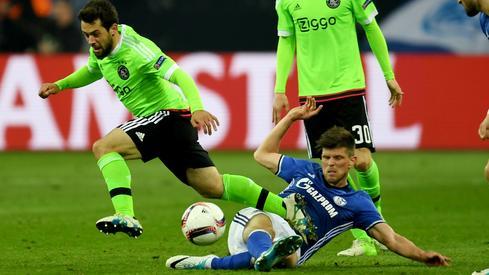 Schalke - Ajax (fot. AFP)