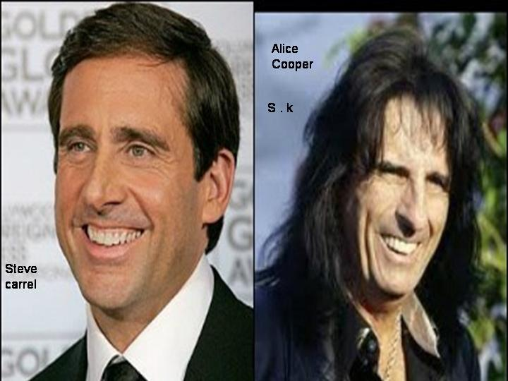 Steve Carrel i Alice Cooper