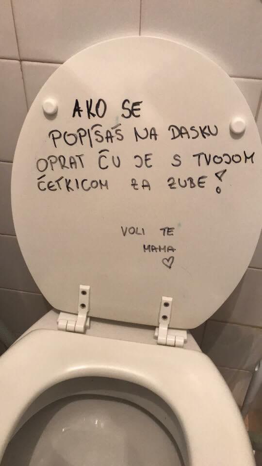 Poruka je jasna