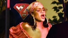 Rihanna w prześwitującym topie na planie teledysku. Niesmaczne?