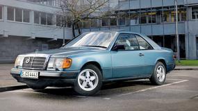 Mercedes 300 CE - skromne coupe