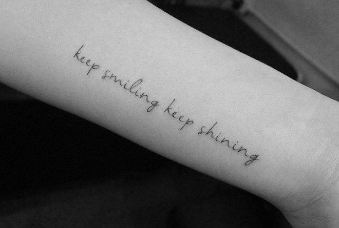Napisy Na Tatuaż Zbiór Najładniejszych Wzorów I Inspiracji