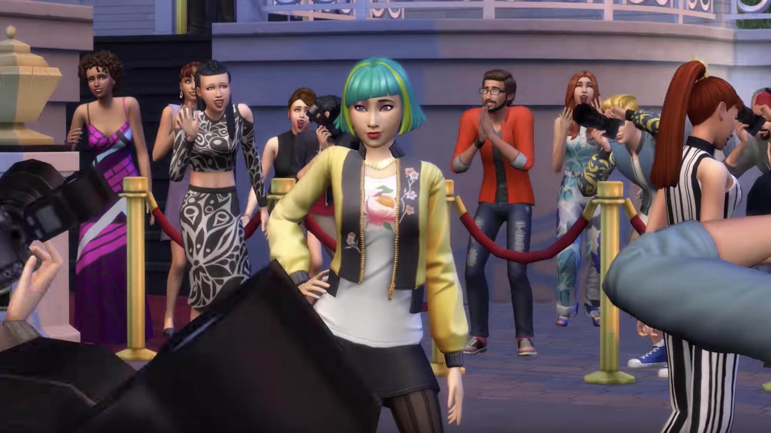 Mit Dem Die Sims 4 Erweiterungspack Werde Berühmt Wirst Du Influencer