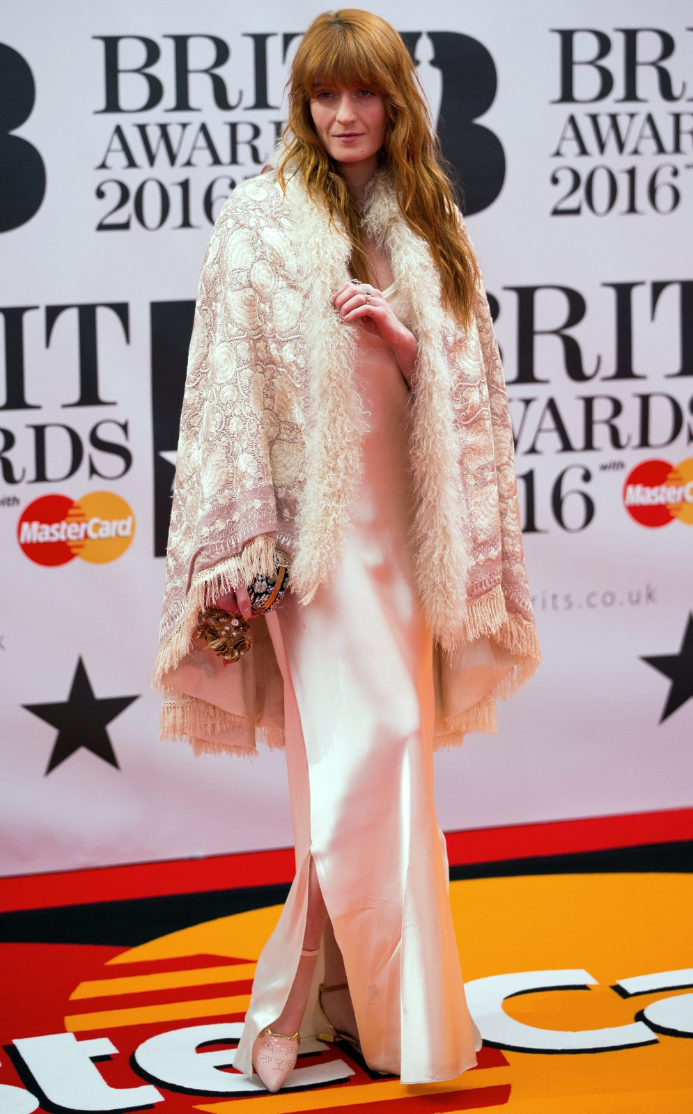 Florence Welch na gali Brit Awards 2016