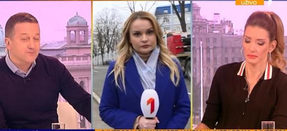 Jovana Joksimović na ivici suza u jutarnjem programu
