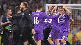 Liga Mistrzów: zawodnicy Realu Madryt świętują wygraną