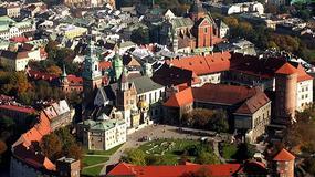 Polska - Kraków z lotu ptaka