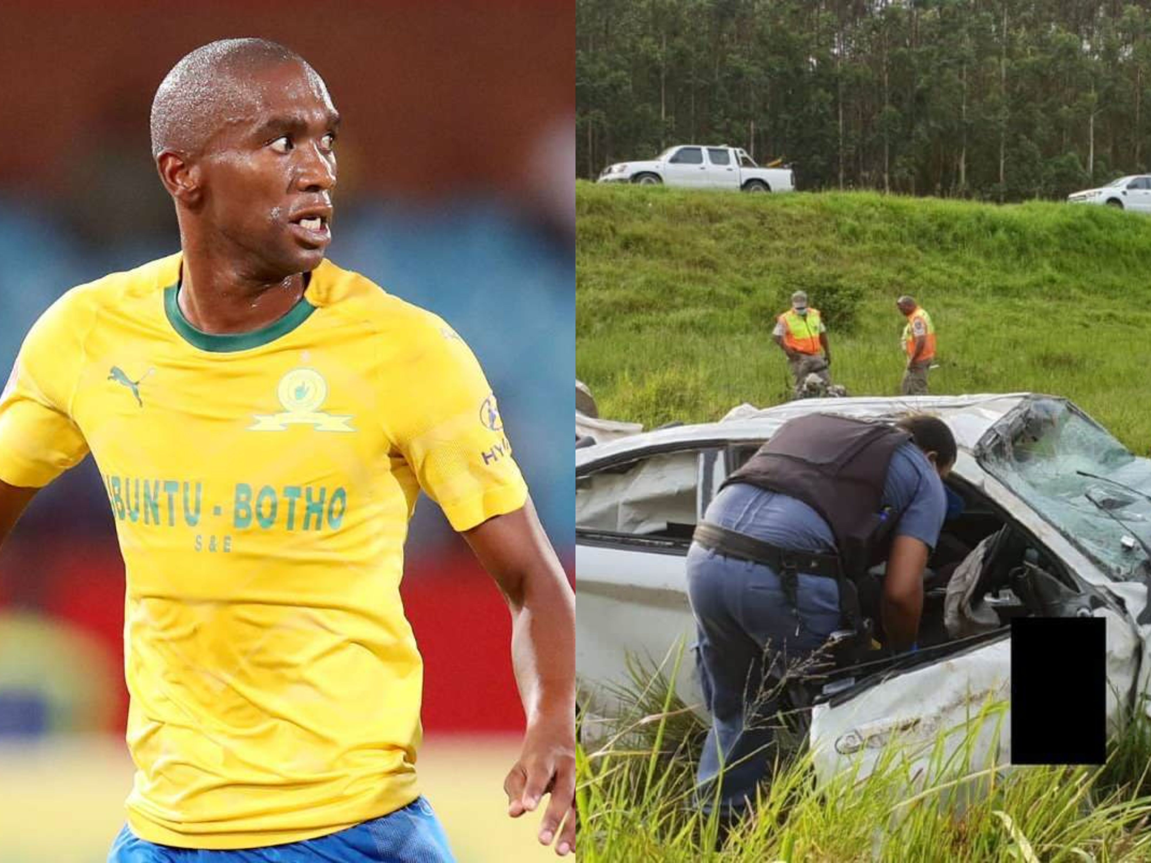 Anele Ngcongca Former South African Footballer Dies In Car Crash