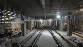 """II linia metra: tory do """"nocowania"""" pociągów gotowe"""