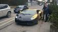 Nowe życie złotego Lamborghini Aventador na Litwie?