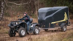 Poddany ciężkiej próbie - Romet T3 500i 4x4