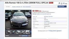 Szukamy auta z ogłoszenia : Alfa Romeo 159 Sportwagon 2.4 JTD