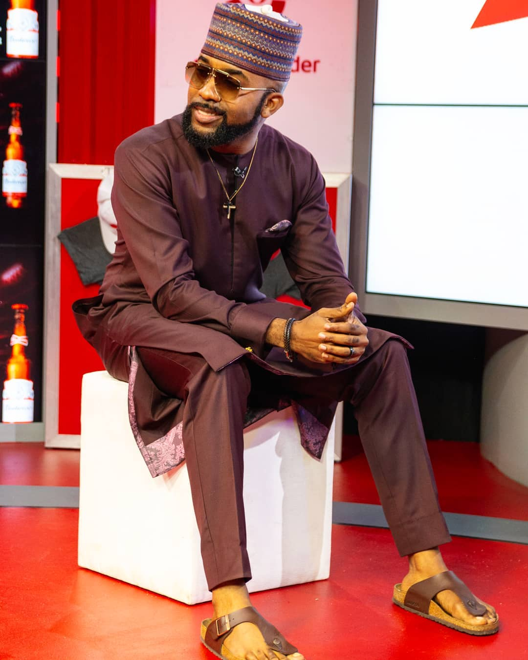 Banky W now runs a talent management company [Instagram/BankyWellington]